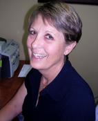 Sandy Burge, Office Manager/Assistant